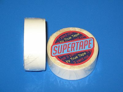 """Supertape 3/4"""" X 3 Yard Roll Tape Non Glare Lace Wig System,Hair Extension.."""