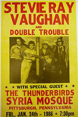 Stevie Ray Vaughan and Double Trouble Poster
