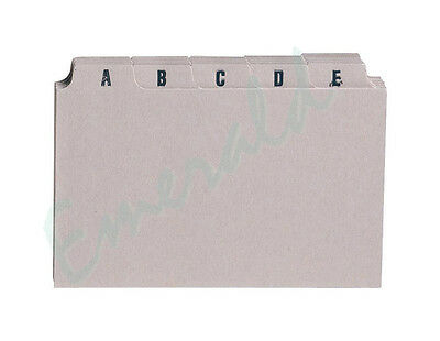 """A-Z Index Record Guide Cards Size 6"""" x 4"""" 152 x 102 Same Day Dispatch"""