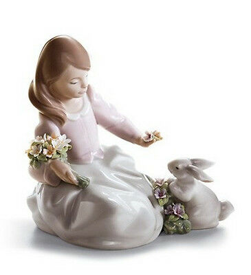 """Lladro Made In Spain   """"forestland Encounter"""" 6931  Mint & Reduced"""