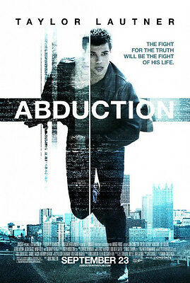 ABDUCTION MOVIE POSTER 2 Sided ORIGINAL Ver C 27x40
