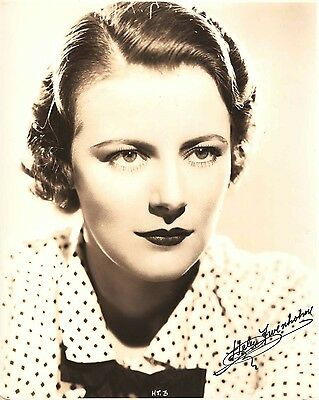 "HELEN TRENHOLME in ""The Firebird"" Original Vintage PORTRAIT 1934 - RARE & SCARCE"