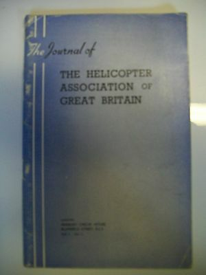 The Journal of The Helicopter Association of Great Britain 9 copies 1947-1957