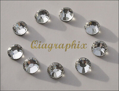2 x 1440 Pcs DMC Iron On Hotfix Crystal Rhinestones Clear SS6, 1.9~2.0mm SS06A