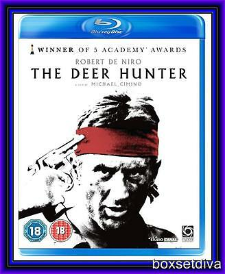 THE DEER HUNTER - De Niro, Walken (1978) *NEW BLU-RAY*
