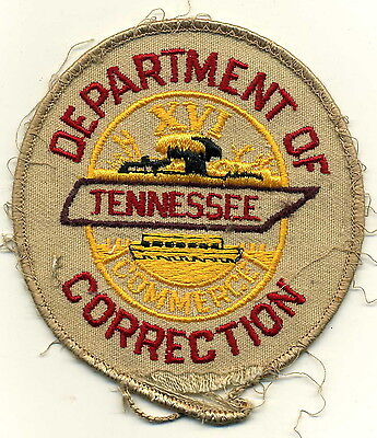 Tennessee Department of Correction Patch