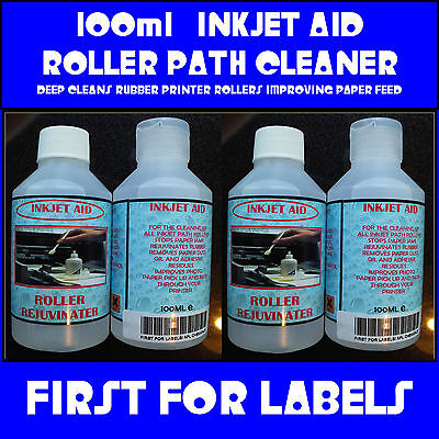 INKJET PRINTER ROLLER PATH CLEANER RUBBER REJUVENATE 100 ml