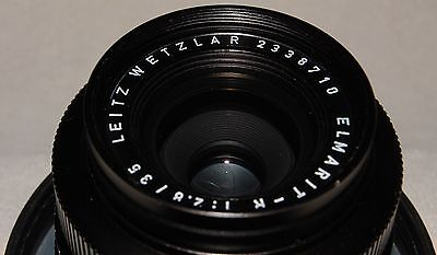 35mm ELMARIT-R f/2.8 *N0N-ROTATING VERSION 1* 1969 Leica  Leitz 2-cam, near mint