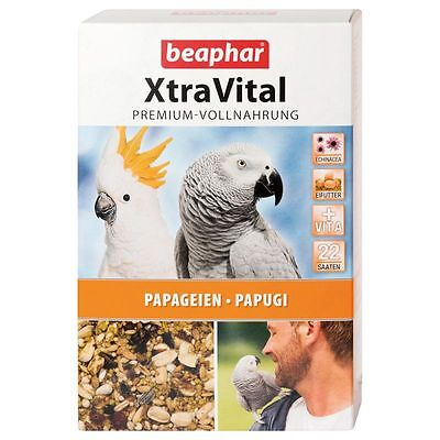 Xtra Vital Premium Parrot Cage Seed Food 1Kg African Grey Cockatoo Vitamin 16304