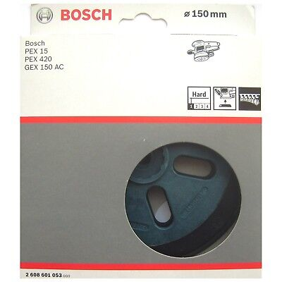Bosch HARD Backing Sanding Pad Rubber Plate PEX 15 420 AE GEX 150 AC 2608601053