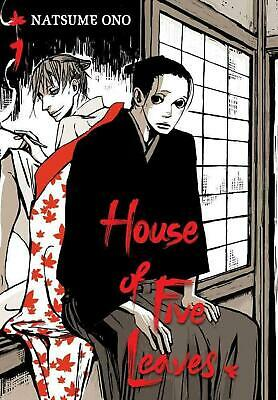 House of Five Leaves, Volume 1 by Natsume Ono (English) Paperback Book Free Ship
