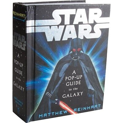 Star Wars: A Pop-Up Guide to the Galaxy Hardcover Trade Book 2010, NEW UNREAD