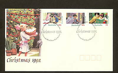 1992 FDC1385 CHRISTMAS First Day Cover