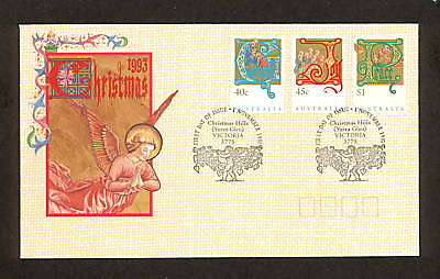 1993 FDC1434 CHRISTMAS (3) First Day Cover