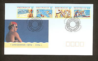 1994 FDC1442 LIFESAVING First Day Cover WAVERLEY NSW 2024 Postmark