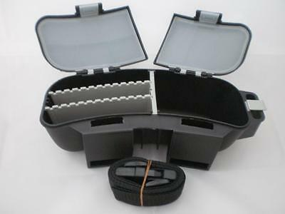 Belt Bait / Tackle Box 9 compartment Brand new, & strap