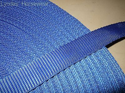 50mtr x 25mm Polypropylene Webbing Strapping For Bag Straps Horse Rugs Dog Leads