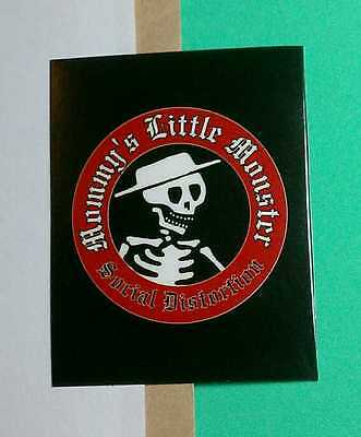 SOCIAL DISTORTION MOMMY'S LITTLE MONSTER SKELETON HAT iPod PHONE SM STICKER