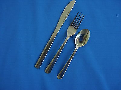 816 Pieces (204) 4 Piece Place Settings  18/0 Stainless Free Shipping Us Only