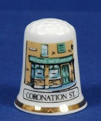 Coronation Street Bone China Thimble B/82