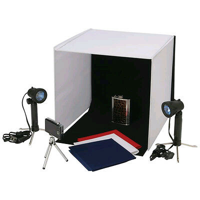 NEW Photo Studio.Take Photo.Travel Style Mini Backdrop.Lighting.Internet Sales.