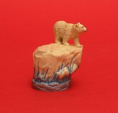 Polar Bear Thimble Hand Painted Pewter Collectible Thimble NEW
