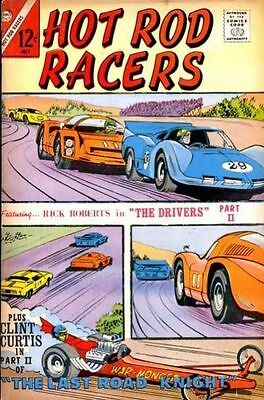 HOT ROD RACERS #15 Very Good, writing on f/c, Charlton Comics 1967