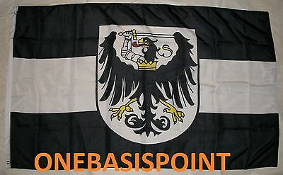 3'x5' WEST PRUSSIA FLAG IMPERIAL CREST COAT OF ARMS GERMANY BANNER OUTDOOR 3X5