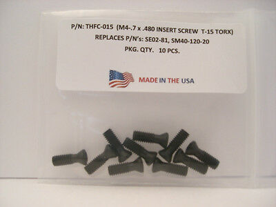 10 Pieces THFC-015 Insert Screw: SE02-81 .. SM40-120-20