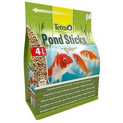 450g 4 litre TETRA POND STICKS FLOATING KOI FISH FOOD DAILY DIET BAG