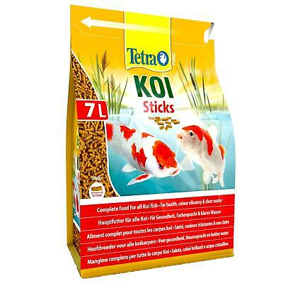 1100g 7 litre TETRA POND KOI STICKS FLOATING FISH FOOD DAILY SUMMER COLOUR DIET