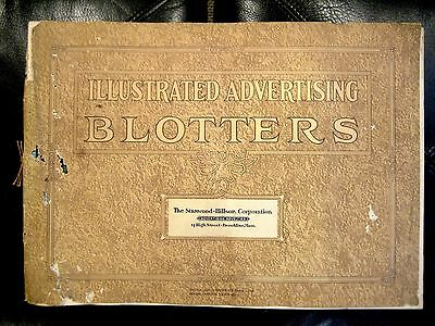 Salesmans Sample Book of Illustrated Advertising Blotters / 1931