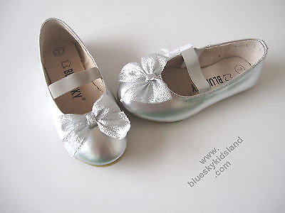 NEW Girls Flat Ballet Leather Patent Shoes Approx: 1-10YR sz 3-13 and Big 1-2-3