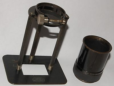 Leitz BELUN 1:1 repro ratio device, 24x36 coverage, uses 5cm Elmar sm lens......