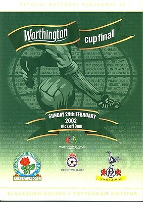 WORTHINGTON CUP FINAL 2002: Blackburn v Spurs