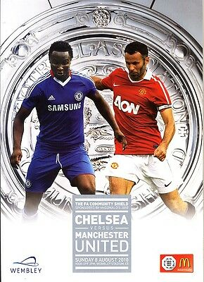 FA COMMUNITY SHIELD 2010: Chelsea v Man United