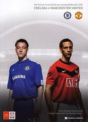 FA COMMUNITY SHIELD 2009: Chelsea v Man United