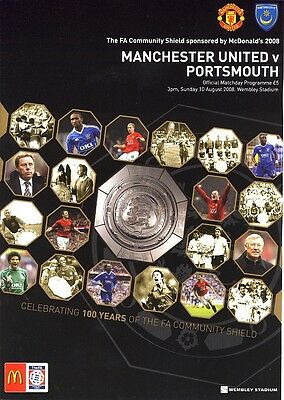 FA COMMUNITY SHIELD 2008: Portsmouth v Man United