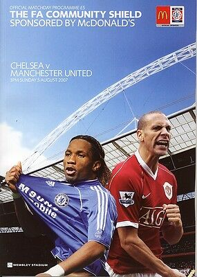FA COMMUNITY SHIELD 2007: Chelsea v Man United