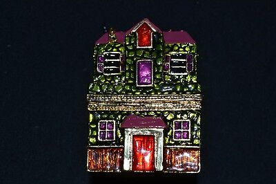 ART FORM FINE COLLECTIBLES HAUNTED HOUSE TRINKET BOX RELEASE NO. 345