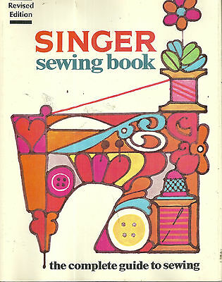 Singer Sewing Book 1972 Second Edition