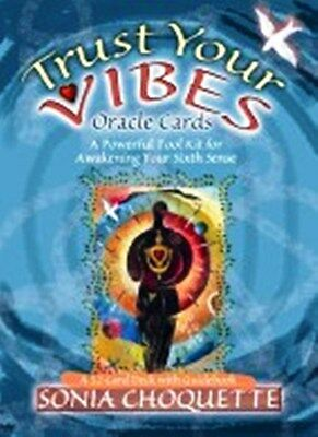 Trust Your Vibes Oracle Cards by Sonia Choquette  NEW