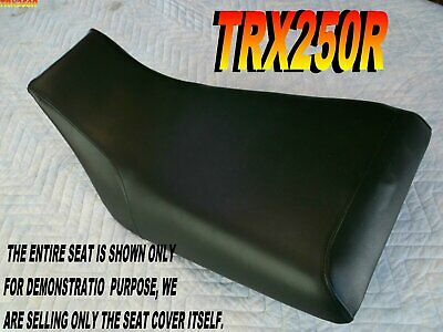TRX250R 1986-89 Replacement seat cover Honda Fourtrax TRX250 Black L@@K 313C