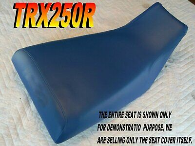 TRX250R 1986-89 Replacement seat cover Honda Fourtrax TRX250 Blue L@@K 313B