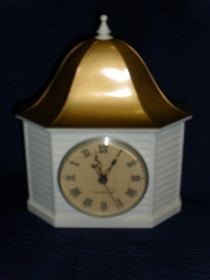 Vintage General Electric plastic CUPOLA WALL CLOCK