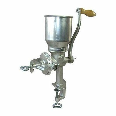 TALL Cast Iron Corn Nuts Grain Mill grinder HEAVY-DUTY hand crank manual New
