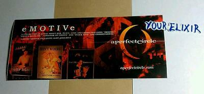 A PERFECT CIRCLE eMOTIVe aMOTION AMP SKATEBOARD GUITAR CASE RARE STICKER
