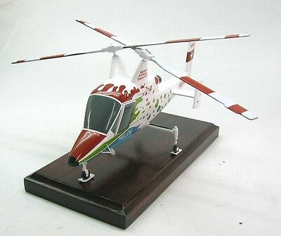 K-1200 Kaman K-Max Helicopter Wood Model Free Shipping New