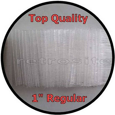 """1000 CLEAR Price Tag Tagging Gun 1"""" (1 inch) REGULAR Barbs Fasteners TOP QUALITY"""