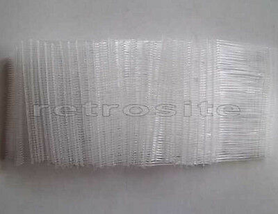 """5000 CLEAR Price Tag Tagging Gun 1"""" (1 inch) REGULAR Barbs Fasteners TOP QUALITY"""